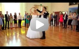 Pierwszy taniec Martyny i Mieszka