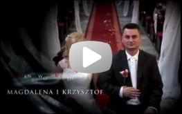 Czołówka filmu Magdaleny i Krzysztofa