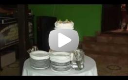 Tort weselny Moniki i Marka