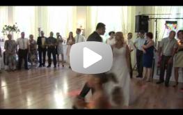 Pierwszy taniec Magdaleny i Krzysztofa